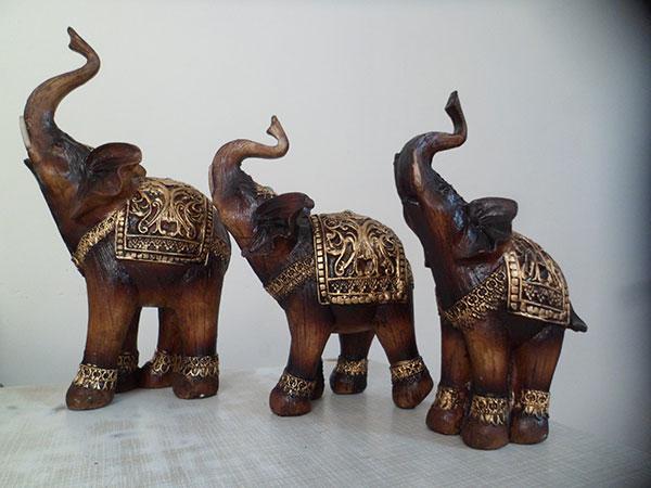 مجسمه فیل پلی استر
