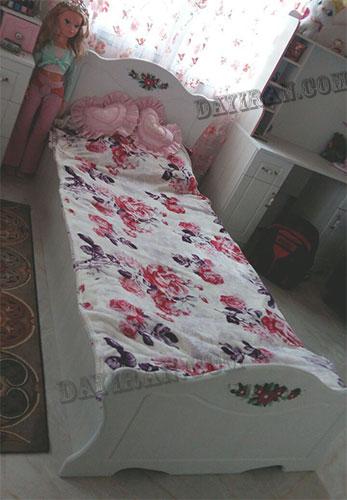 تخت و کمد کودک پرنس1