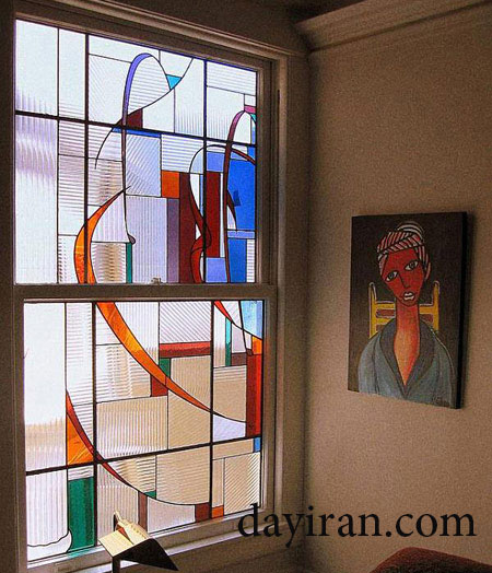 شیشه رنگی 2