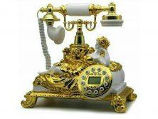 تلفن سلطنتی سفید 010