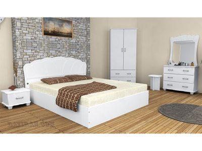 سرویس خواب سفید E101