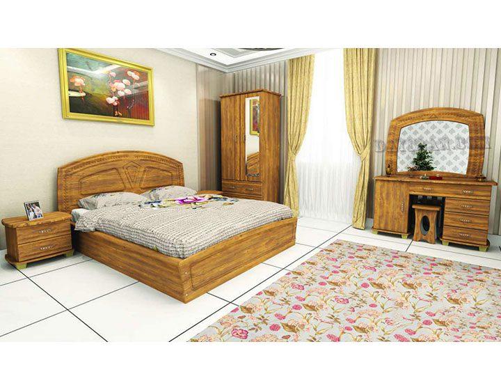 سرویس خواب چوبی 131