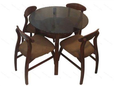 میز ناهار خوری گرد - N107