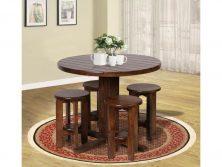 میز ناهار خوری چوبی - N115