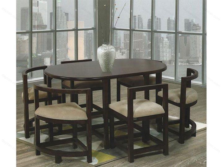 میز ناهار خوری کم جا - N130