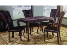 میز ناهار خوری چوبی - N138