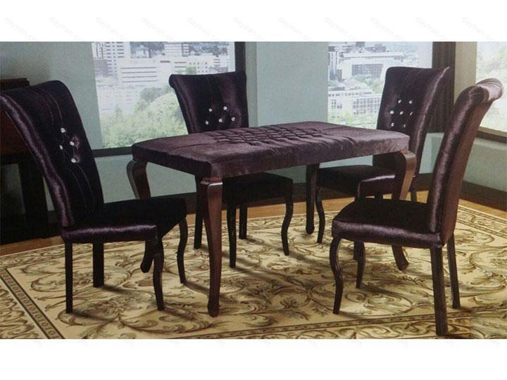 میز ناهار خوری چوبی – N138