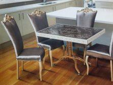 میز ناهار خوری چوبی کلاسیک - N139