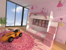 تخت نوزاد دو طبقه