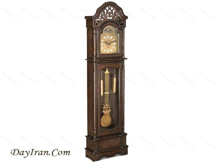 ساعت ایستاده چوبی A013