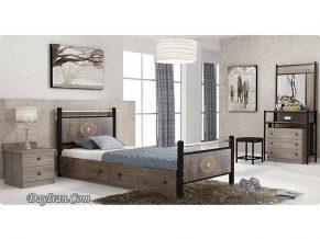 تخت خواب فلزی لاریسا