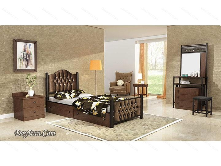 تخت خواب فلزی راما ۱