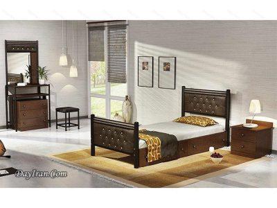 تخت خواب فلزی سورنا 1