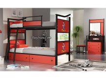 تخت خواب نوجوان دو طبقه بن تن