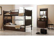 تخت خواب فلزی دو طبقه سورنا