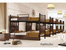 تختخواب دو طبقه فلزی دورا