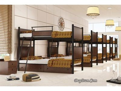 تخت دو طبقه دورا