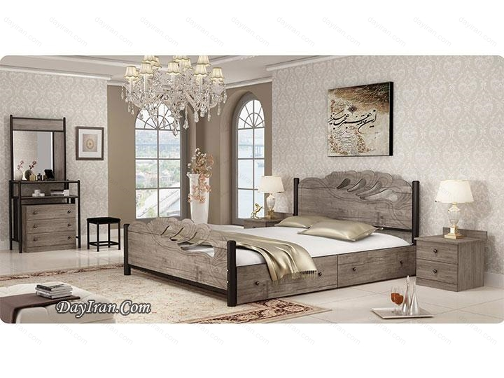 تخت خواب ملینا ۲