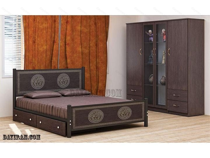 تخت خواب فلزی دو نفره ورساچ