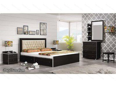 تخت خواب چوبی پانتا