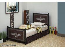 فروش اینترنتی تخت خوابهای فلزی چوبی مدل ملودی با گارانتی و ارسال رایگان