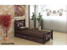 تخت خواب فلزی گل