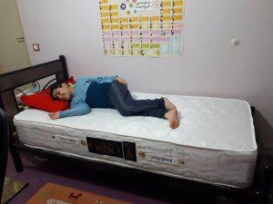 تخت خواب یک نفره ملودی
