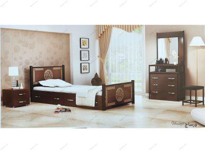 تخت خواب یک نفره ورساچ