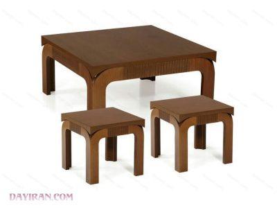 میز جلو مبلی کاجو