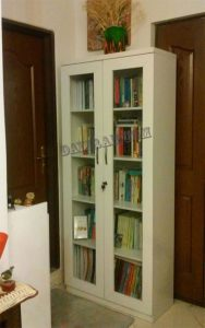 کتابخانه قابدار دو درب
