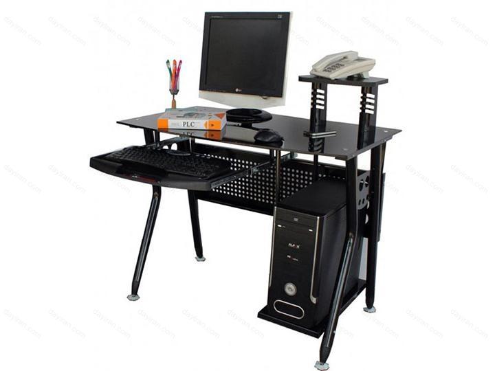 میز کامپیوتر شیشه ای – PC 102