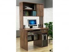 میز کامپیوتر و کتابخانه