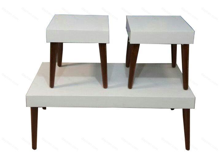 میز عسلی چوگان