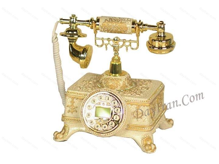 تلفن سلطنتی سفید p105