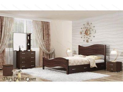 تخت خواب دو نفره فلزی ماندانا 2
