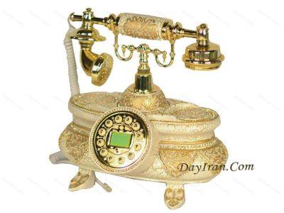 تلفن سلطنتی سفید p104