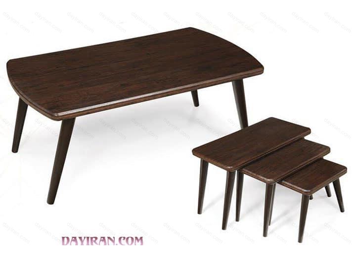 میز جلو مبلی پایه خراطی