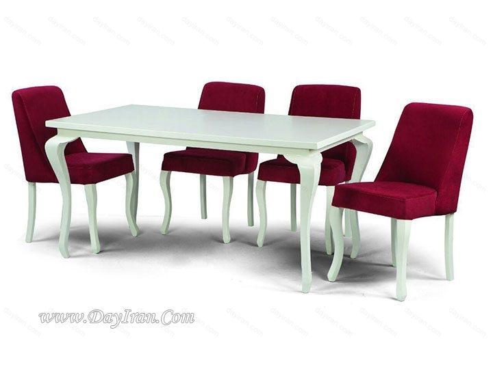 میز نهار خوری 6 نفره