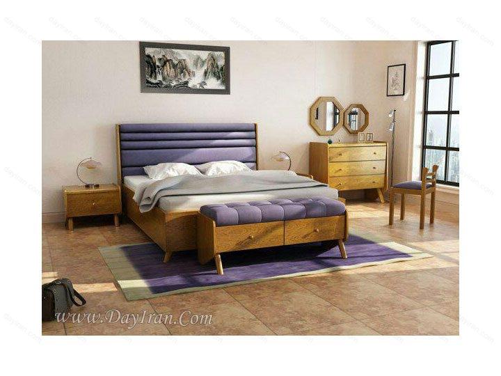 سرویس خواب چوبی آداک