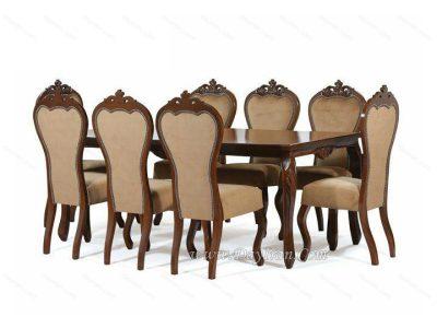 میز ناهارخوری 8 نفره سلطنتی