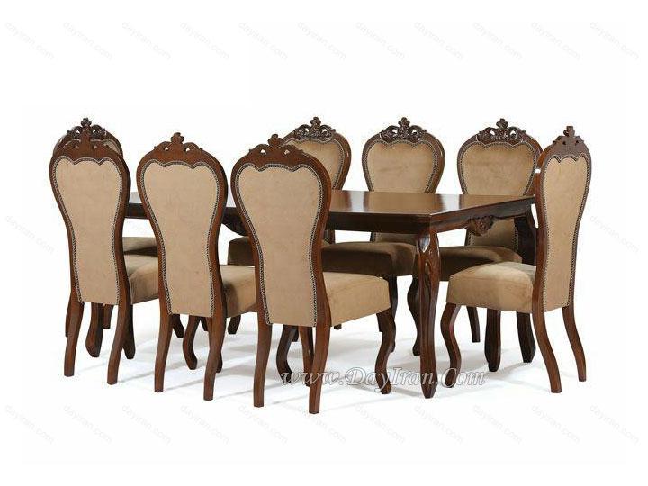 میز ناهارخوری نیلوفر