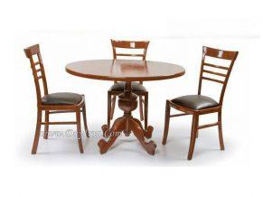 میز ناهار خوری گرد انگلیسی