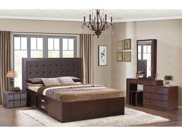 اتاق خواب چیدمان و طراحی قهوه ای