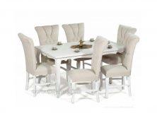 میز ناهارخوری مدرن ماهان شش نفره