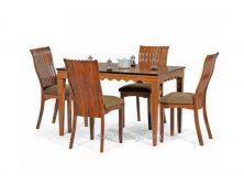 میز ناهار خوری چوبی مکزیکی