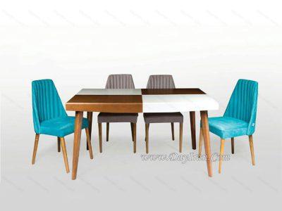 میز ناهارخوری مدرن میلانو