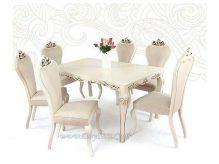 میز ناهارخوری سلطنتی نیلوفر
