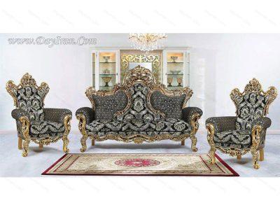 مبل سلطنتی کهربا