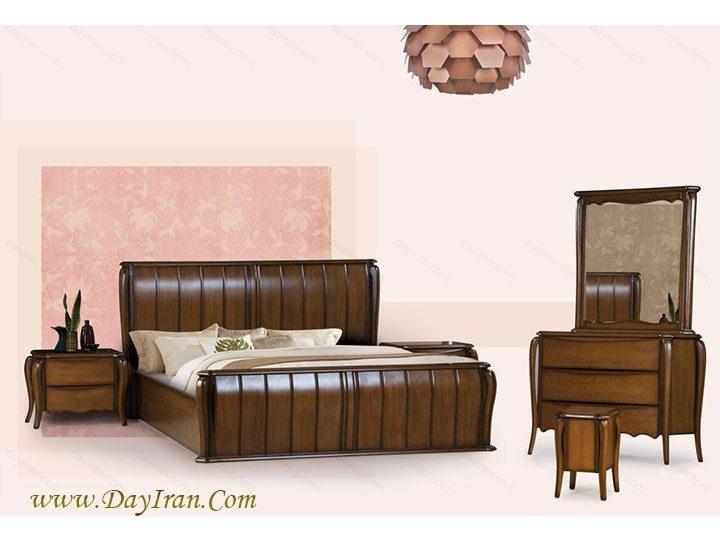 سرویس خواب چوبی آرکا