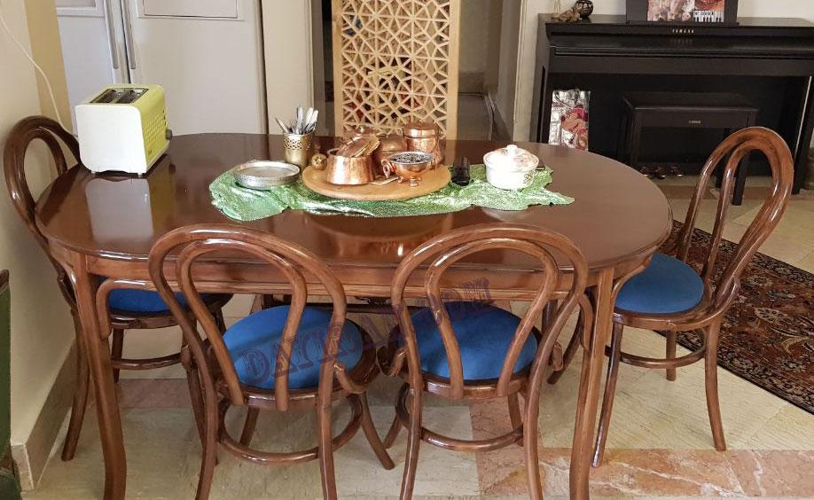 میز ناهارخوری لیندا